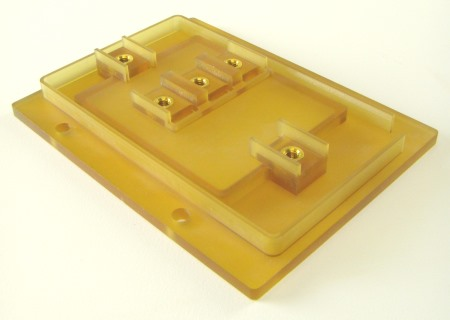 fabricated plastic components